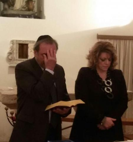 Shemà Israel - Il Morè Carmine Davide con la Dott.ssa Porzia Quagliarella
