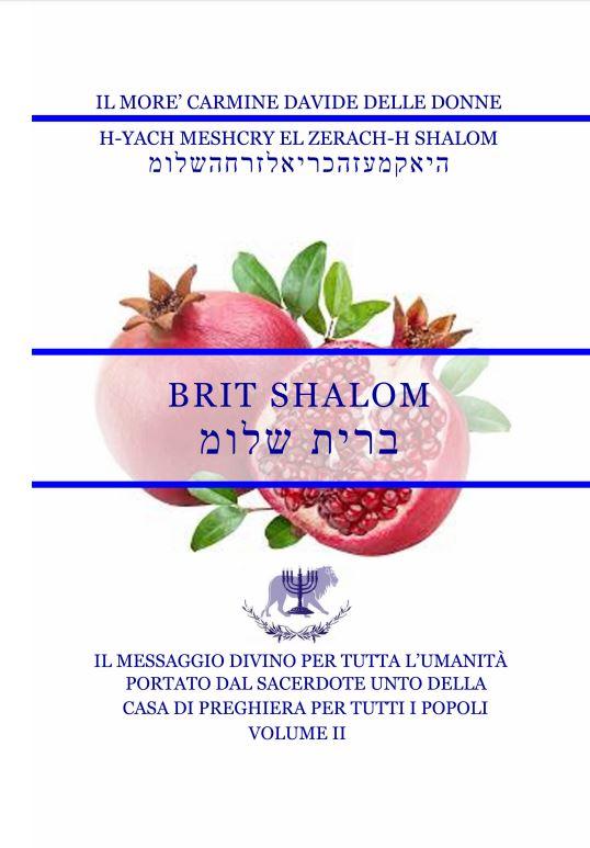 Il Messaggio Divino per tutta l'umanità – Volume II – Brit Shalom